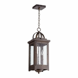 "Quorum Riverdale 22"" Outdoor Pendant Light 758-3-86"