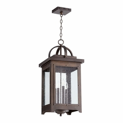 "Quorum Riverdale 25.5"" Hanging Outdoor Light 758-4-86"