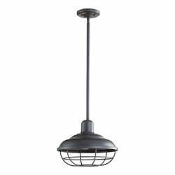 Quorum Tansley Outdoor Hanging Light Fixture - Old World 7120-95