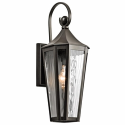 "Rochdale 19.25"" Outdoor Wall Lamp By Kichler - Bronze 49512OZ"