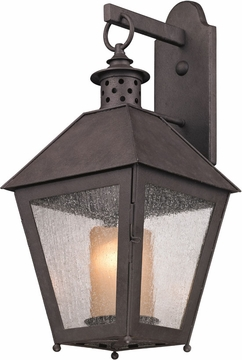 "Sagamore 22.75"" Outdoor Wall Lantern By Troy - Rust B3293"