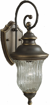 Sausalito Exterior Wall Light in Olde Bronze by Kichler 9412OZ