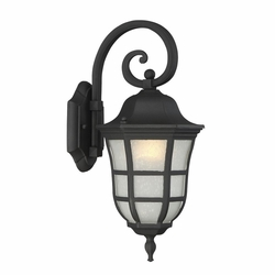 "Savoy House Ashburn 17.75"" Outdoor Wall Mounted Light 5-480-BK"