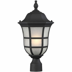 Savoy House Ashburn Outdoor Post Lamp 5-483-BK