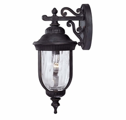"Savoy House Castlemain 20.25"" Exterior Wall Light - Black 5-60321-186"
