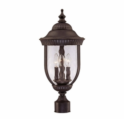 Savoy House Castlemain Outdoor Lamp Post - Walnut 5-60329-40