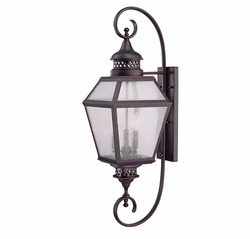 "Savoy House Chiminea 37.75"" Outdoor Lighting Sconce 5-774-13"