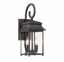 "Savoy House Durham 17.5"" Outdoor Wall Lamp 5-9540-25"