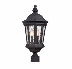 Savoy House Hampden Outdoor Post Lighting 5-5083-BK