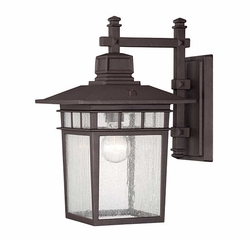 "Savoy House Linden 14.5"" Outdoor Wall Lantern - Bronze 5-9591-330"