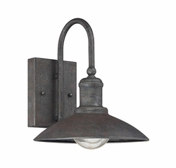 "Savoy House Mica 10"" Exterior Sconce - Rust 5-5030-1-32"