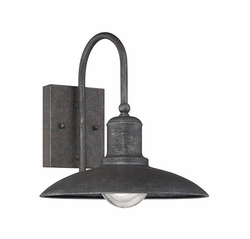 "Savoy House Mica 11"" Outdoor Wall Lighting - Rust 5-5031-1-32"