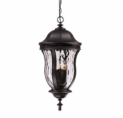 "Savoy House Monticello 28.25"" Outdoor Hanging Lighting - Black KP-5-306-BK"
