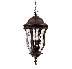 "Savoy House Monticello 28.25"" Outdoor Hanging Lighting Fixture - Walnut KP-5-306-40"