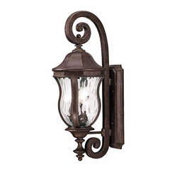 "Savoy House Monticello 28"" Outdoor Wall Mounted Light - Walnut KP-5-300-40"