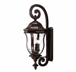"Savoy House Monticello 36"" Exterior Sconce - Walnut KP-5-303-40"