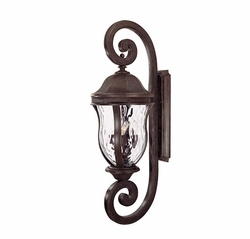 "Savoy House Monticello 40"" Exterior Light Sconce - Walnut KP-5-311-40"