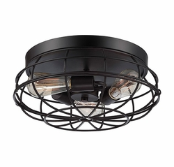 "Savoy House Scout 6.5"" Outdoor Ceiling Fixture - Bronze 6-8074-15-13"