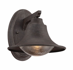"Savoy House Trent 10"" Outdoor Wall Lamp - Rust 5-5070-1-32"