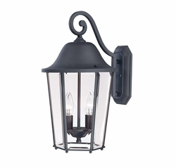 "Savoy House Truscott 18"" Outdoor Wall Mounted Light - Black 5-6212-BK"