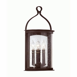 Scarsdale Transitional Outdoor Wall Lantern by Troy B9472FBK