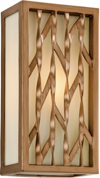 """Serengeti 12"""" Fluorescent Exterior Sconce By Troy - Bronze BF3162"""
