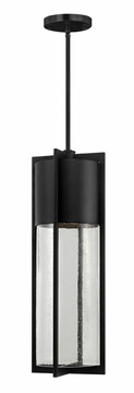 "Shelter 24.5"" Dark Sky Outdoor Pendant Light Fixture By Hinkley - Black 1328BK"
