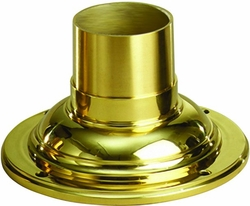 Solid Brass Mount Adapter by Kichler 9530PB