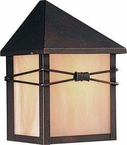 "Taliesin 7.5"" Outdoor Wall Light By Maxim - Burnished 8041"