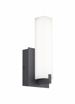 "Tech Cosmo 12"" LED Charcoal Outdoor Wall Sconce 700OWCOS83012YHUNVS"