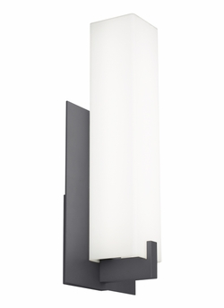 """Tech Cosmo 18"""" LED Charcoal Outdoor Wall Light 700OWCOS83018YHUNVS"""