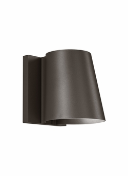"Tech Konial 5"" LED Bronze Outdoor Lighting Sconce 700OWKON8305MZ120S"