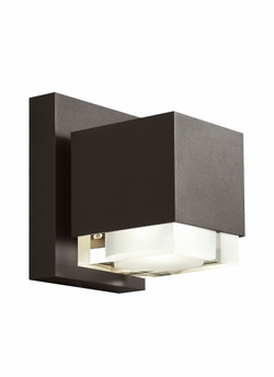 Tech Voto 8 LED Bronze Outdoor Wall Sconce 700OWVOT8308ZDOUNVS