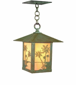 "Timber Ridge 12"" Outdoor Ceiling Lighting Fixture By Arroyo Craftsman"