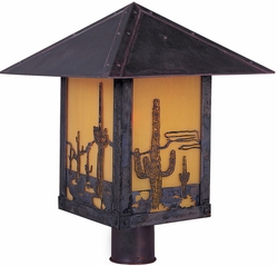 "Timber Ridge 15"" Outdoor Post Light By Arroyo Craftsman"