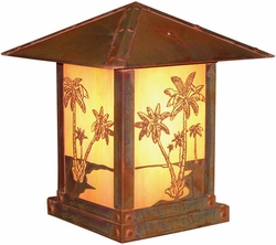 "Timber Ridge 16"" Exterior Deck Light By Arroyo Craftsman"