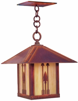"Timber Ridge 17.5"" Outdoor Pendant By Arroyo Craftsman"