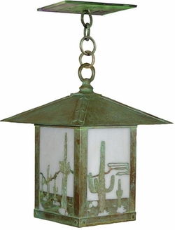 "Timber Ridge 17.5"" Outdoor Pendant Lighting Fixture By Arroyo Craftsman"