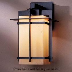 "Tourou 13.9"" Outdoor Wall Light By Hubbardton Forge"