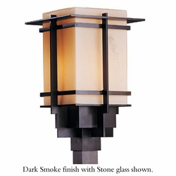 "Tourou 19.1"" Exterior Post Lamp By Hubbardton Forge"