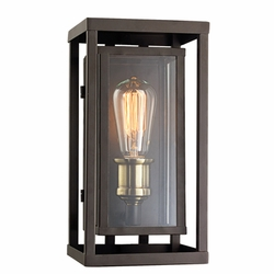 "Trans Globe 11"" Outdoor Wall Mounted Light - Bronze 50220-ROB"