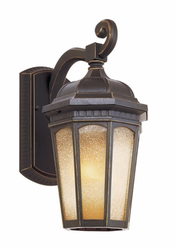 "Trans Globe 12.75"" Outdoor Wall Lamp - Traditional 40150"