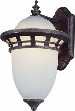 "Trans Globe 12"" Fluorescent Outdoor Lighting Sconce - Transitional PL-5110"
