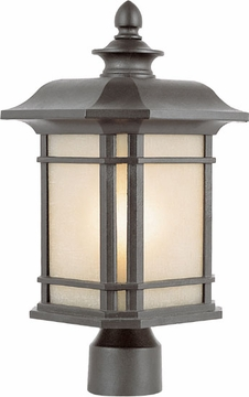 "Trans Globe 13.5"" Outdoor Post Lighting Fixture - 5823"