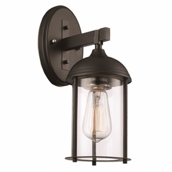 "Trans Globe 13.5"" Outdoor Wall Mount - Bronze 50230-ROB"