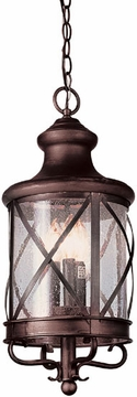 "Trans Globe 20.5"" Outdoor Pendant Light - Victorian 5124"