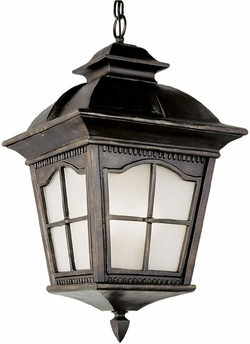 "Trans Globe 21.25"" Fluorescent Outdoor Hanging Lantern - PL-5421"