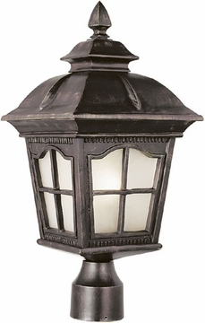 "Trans Globe 22.5"" Fluorescent Outdoor Post Lighting - PL-5422"