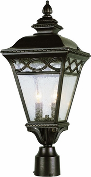 "Trans Globe 22"" Outdoor Post Light - 50513"