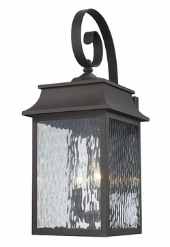 "Trans Globe 22"" Outdoor Wall Lamp - Bronze 50351-WB"